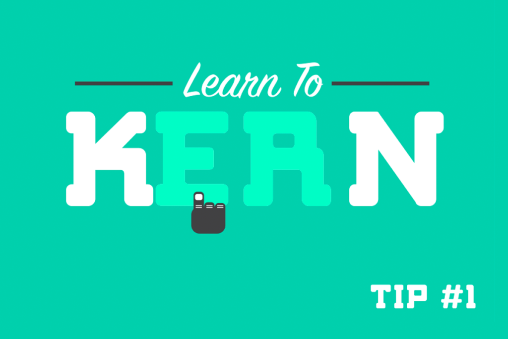 Typography Tips #1 — Kerning