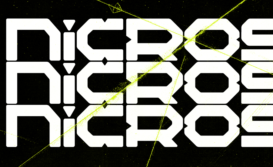 Nicro Force Free Font