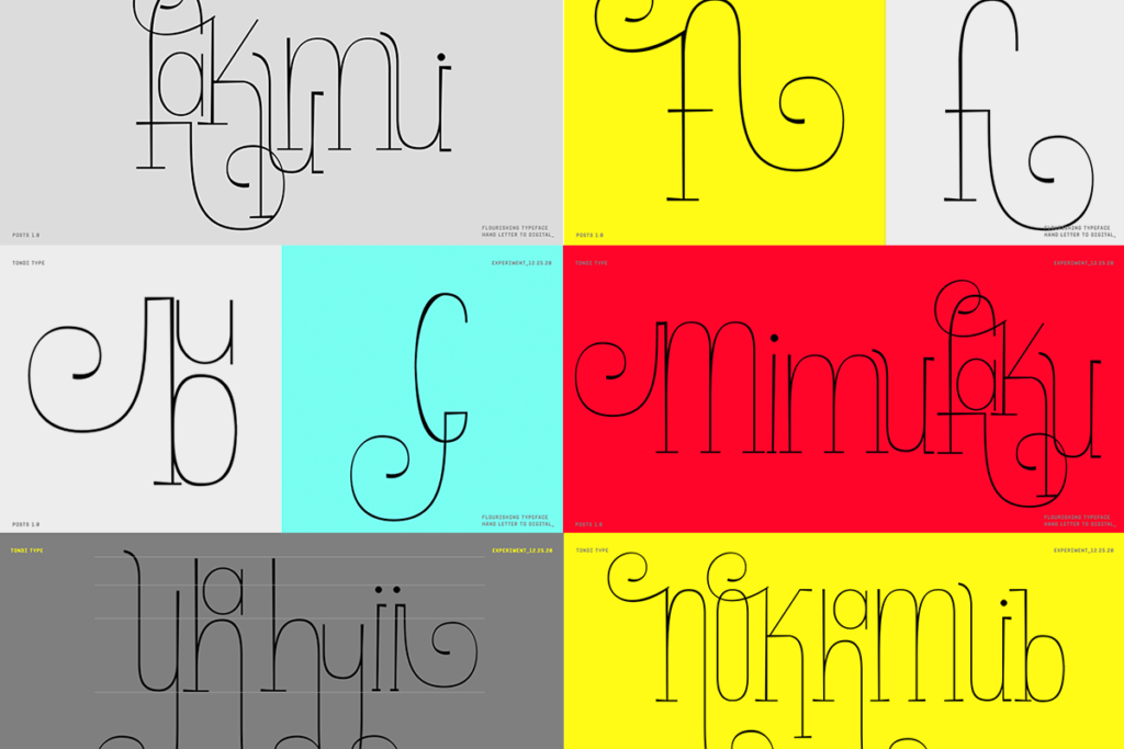 Flourishing Type Exploration