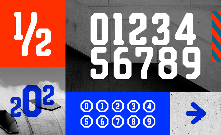 Reqnad Geometrik Display Font