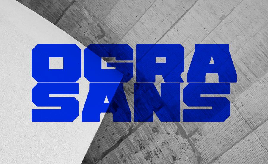 Ogra Sans | Font Freebie